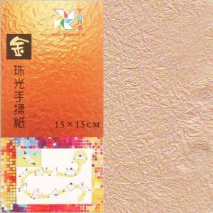 Shoyu Gold pink lilacdouble side, 15cm square, 20 sheets, (KY521)